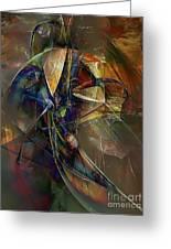 Abstraction 0497 Marucii Greeting Card