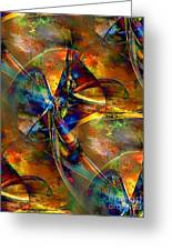 Abstraction 0528 - Marucii Greeting Card