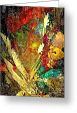 Abstraction 0553 Marucii Greeting Card