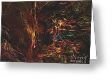 Abstraction 0564 Marucii Greeting Card