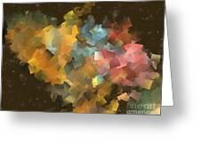 Abstraction 0566 Marucii Greeting Card