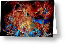 Abstraction 0600 - Marucii Greeting Card