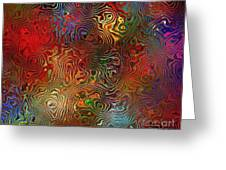 Abstraction 0612 Marucii Greeting Card