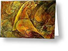 Abstraction 0627 - Marucii Greeting Card