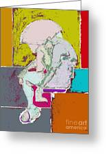 Abstraction 113 Greeting Card