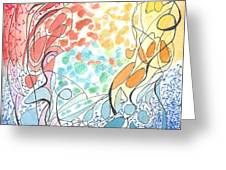 Abstraction 2 Greeting Card