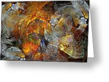 Abstraction 435-08-13  Marucii Greeting Card