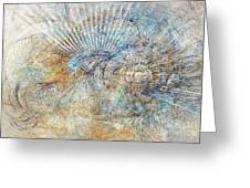 Abstraction 476-09-13 Marucii Greeting Card