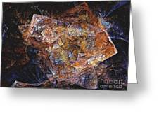 Abstraction 562-11-13 Marucii Greeting Card