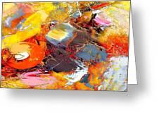 Abstraction 586-11-13 Marucii Greeting Card