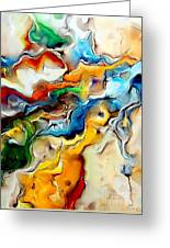 Abstraction 600-11-13 Marucii Greeting Card