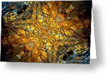 Abstraction 634-12-13 Marucii Greeting Card