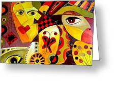 Abstraction 673 - Marucii Greeting Card