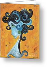 Abstraction 699 -marucii Greeting Card