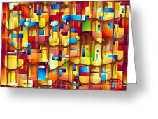 Abstraction 747 - Marucii Greeting Card