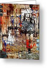 Abstraction 758 - Marucii Greeting Card