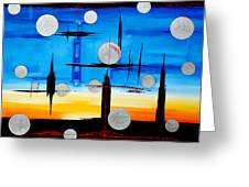 Abstraction - IIi - Greeting Card