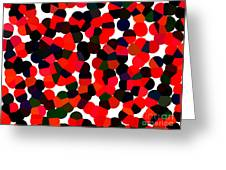 Abstractionism Greeting Card