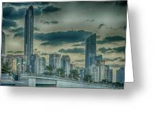 Abu Dhabi Cityscape Greeting Card