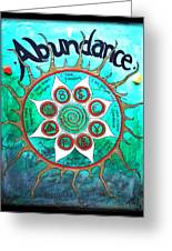 Abundance Money Magnet - Healing Art Greeting Card