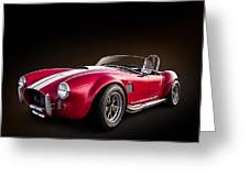 Ac Cobra Greeting Card