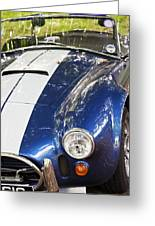 Ac Cobra Shelby Greeting Card