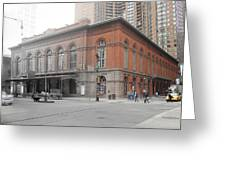 Academy Of Music Greeting Card