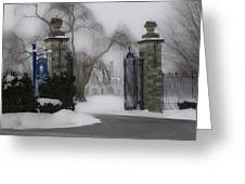 Academy Of Notre Dame - School For Girls Greeting Card