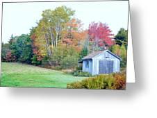 Acadia Autumn 2014 Greeting Card