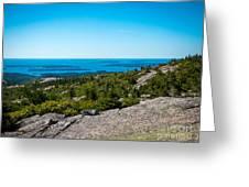 Acadia Blue Greeting Card