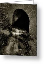 Acadia Waterfall Greeting Card