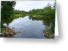Acadian Stream Greeting Card