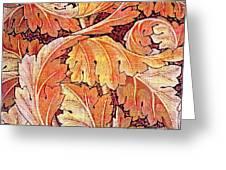 Acanthus Vine Design Greeting Card