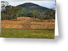Acapulco Mexico Archaeological Site Greeting Card