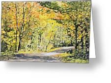 Acorn Lake 002 Greeting Card