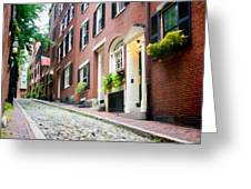 Acorn Street 2 Greeting Card
