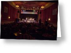 Acoustic Alchemy On Stage Greeting Card