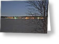 Across The Lake Greeting Card
