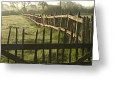 Across From Yarnton Greeting Card