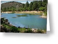 Across Goldwater Lake Greeting Card