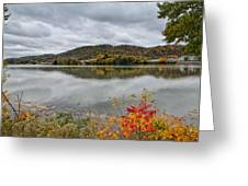 Across The Ohio River Greeting Card