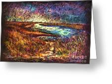Across The Point Sh Greeting Card by Peter R Davidson