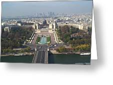 Across The Seine Greeting Card
