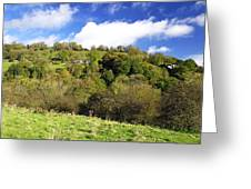 Across The Southern End Of Monk's Dale Greeting Card