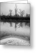 Across The Water Greeting Card by Davorin Mance