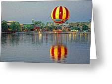 Across The Water Greeting Card