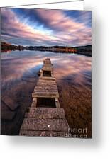 Across The Water Greeting Card by John Farnan