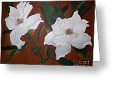 Acrylic Untitled Study Greeting Card