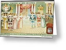 Act One  Alfredo Meets  Violetta Greeting Card