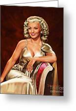 Actress Carole Landis Greeting Card